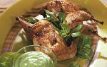 Вкусные оригинальные блюда из мяса и яиц перепелов