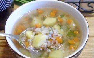Вкусные рецепты диетического гречневого супа