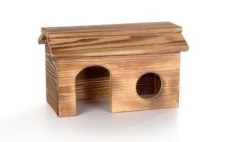 Изготовление домика для шиншиллы
