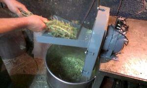 Как сделать сенорезку своими руками