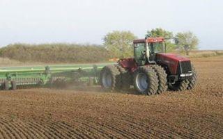 Посев пшеницы яровой и озимой