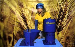 Модели зернодробилок Фермер