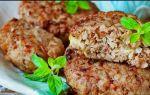 Лучшие рецепты диетических котлет из гречки