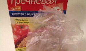 Как варить гречку в пакетиках