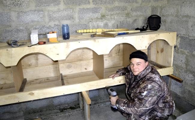 Строительство гнезд