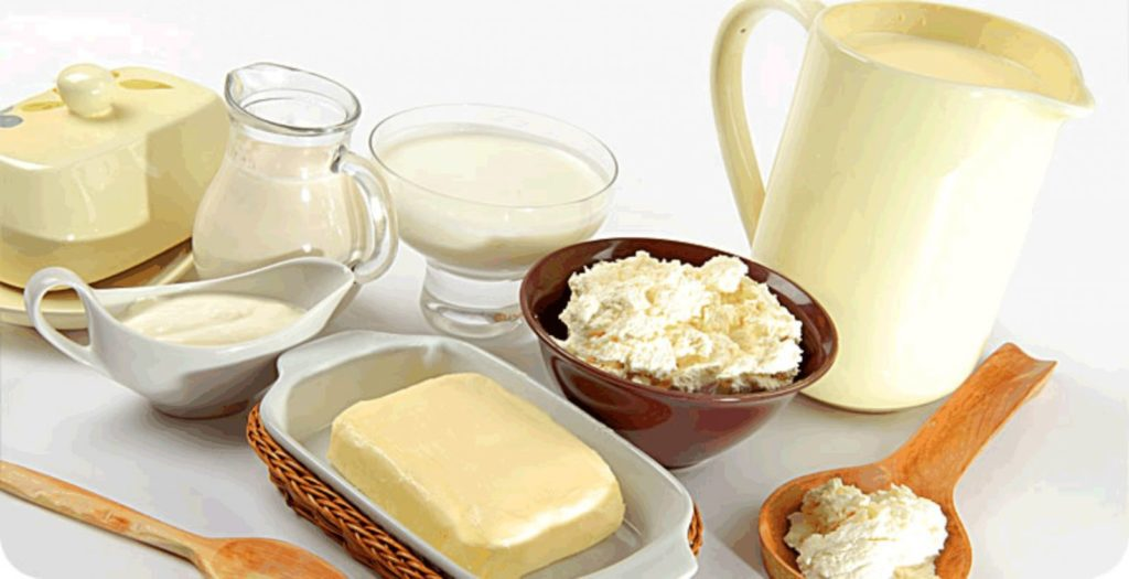 Домашняя продукция из молока