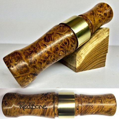 Дорогой манок из древесины ореха