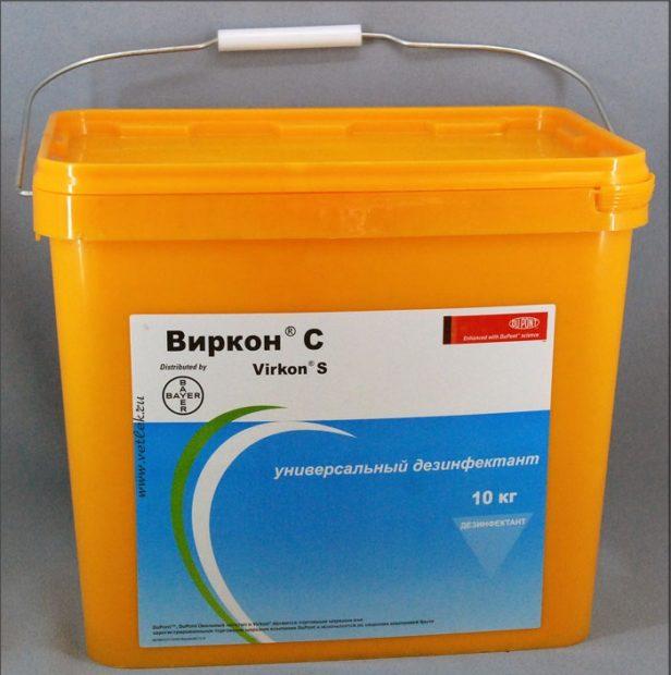 Препарат Виркон-С применяют с первого дня