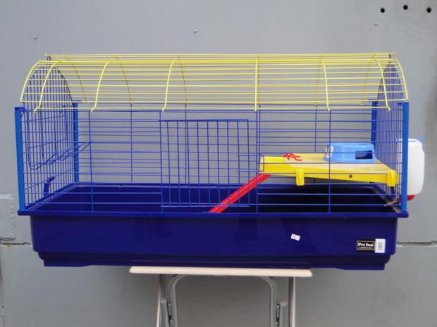 Готовая клетка для кролей