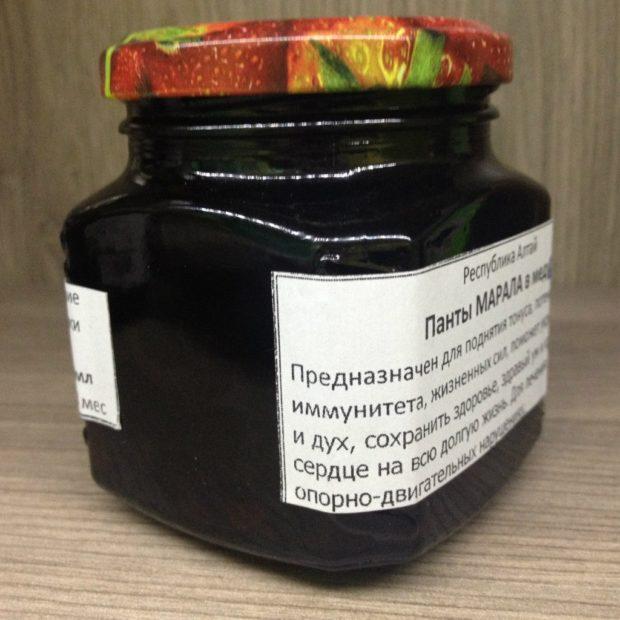 Панты в меду - целебный деликатес