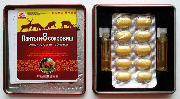 Таблетки для потенции из пант