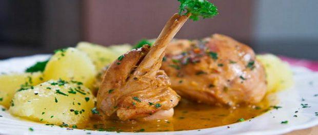Блюда из кролика вкусные и полезные. Тушеный кролик