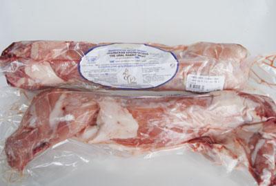 Кроличье мясо в упаковке