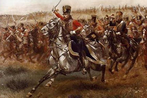 Русская конная кавалерия использовала в основном дончаков