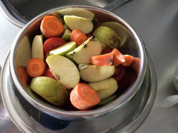 Овощи и фрукты обязательно должны быть в рационе
