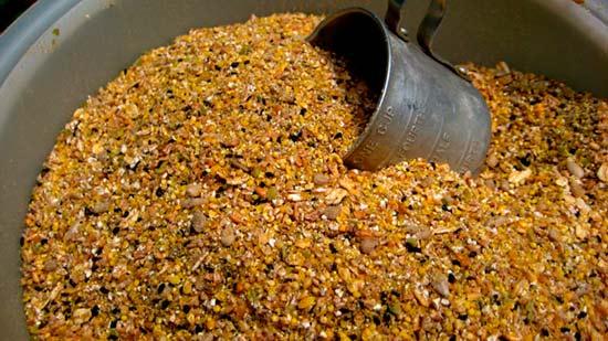 Зерновая смесь для павлинов аналогичная куриной
