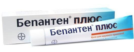 Бепатен-крем применяют в лечении