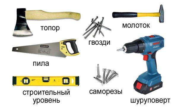 Основные инструменты для работы