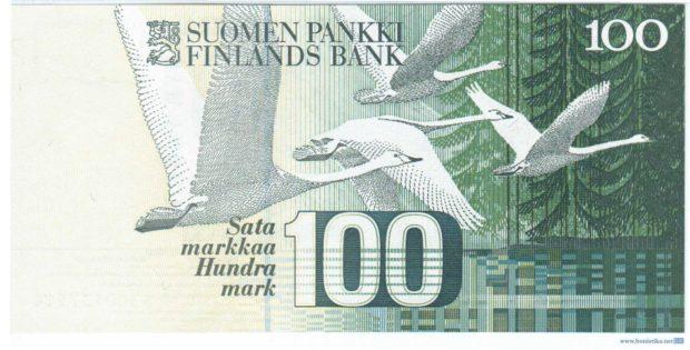 Кликуны на финских купюрах
