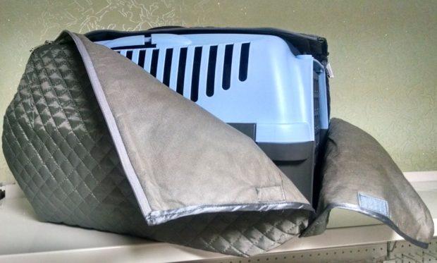 Переноска для шиншиллы в сумке