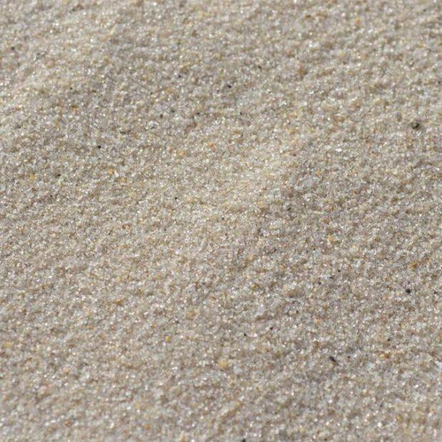 Вулканический песок при увеличении
