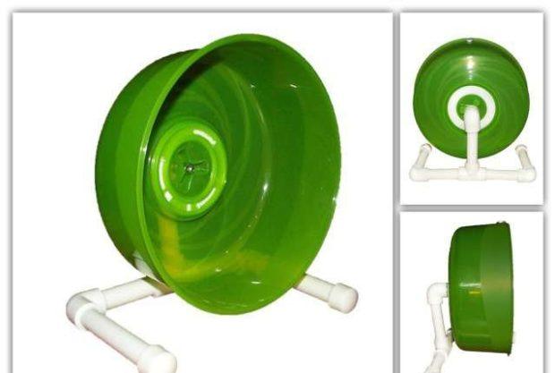 Пластиковое колесо с ножками