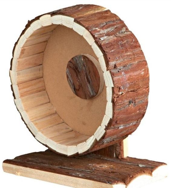 Самодельное колесо из дерева