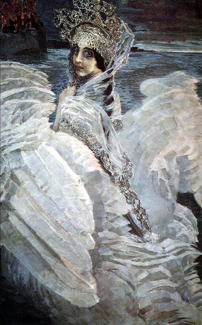 Царевна Лебедь, картина