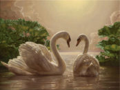 Символизм лебедей