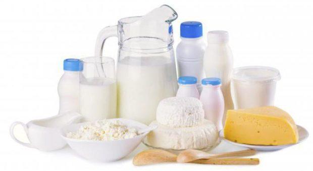 Молочные продукты и молоко