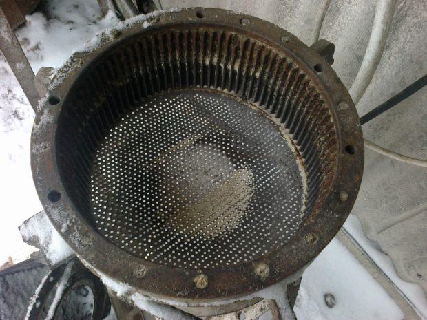 Сито для зернодробилки
