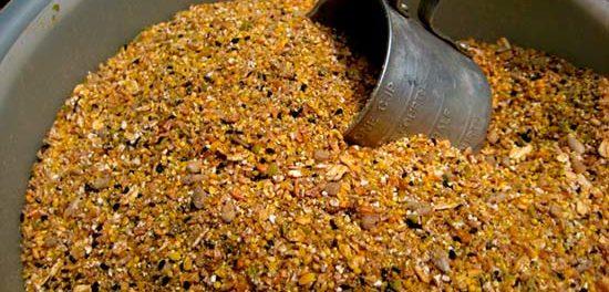 Дробленное зерно - корм