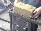 Изготовление топливного брикета