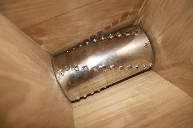 Деревянная модель барабан