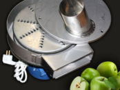 Готовый измельчитель яблок