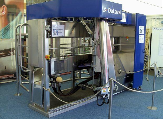 Робот Делаваль для дойки