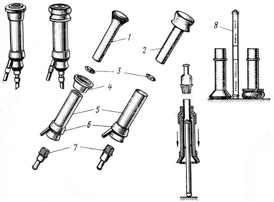 Конструкция стаканов для дойки