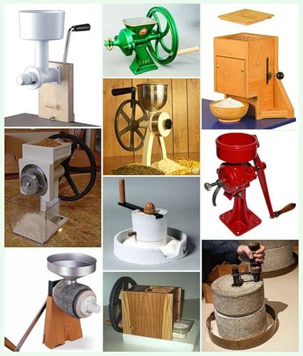 Ручные мельницы разных типов