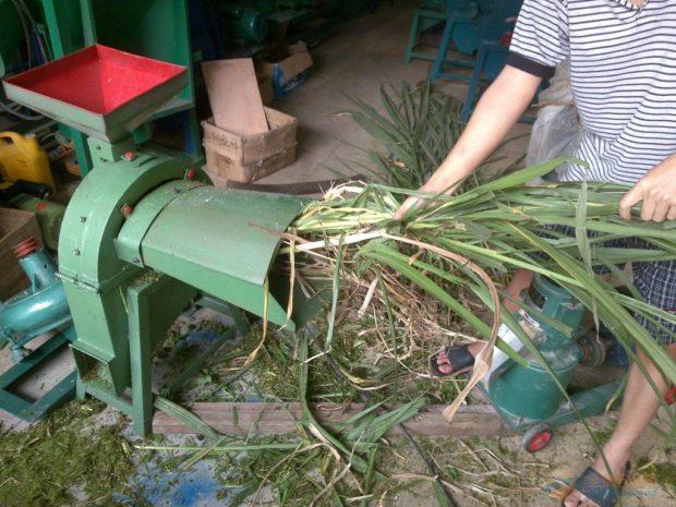 Дробилка травы