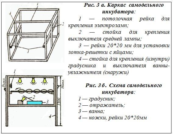 Схема простого самодельного инкубатора
