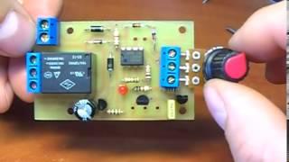 Аналоговый терморегулятор для инкубатора