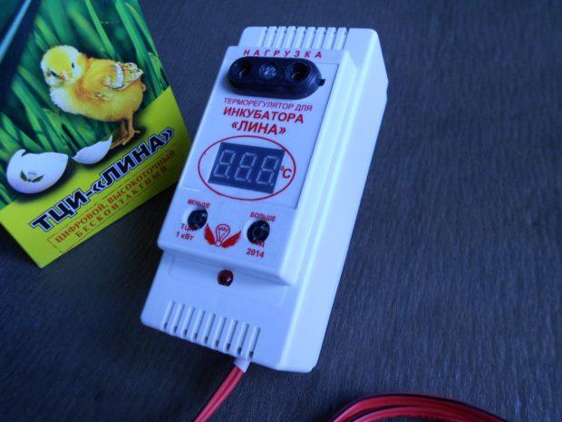 Терморегулятор Лина для небольшого инкубатора