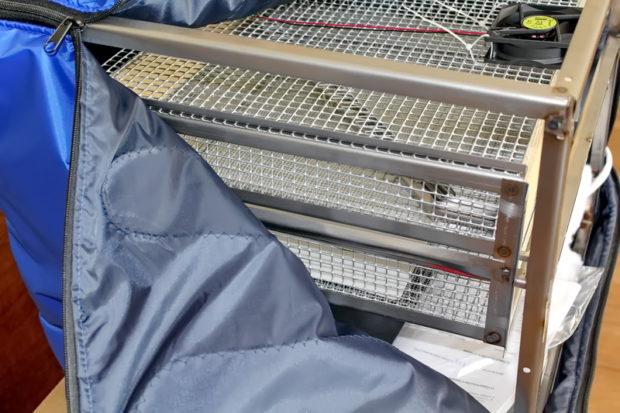 Инкубатор Несушка ТГБ био на 140 яиц