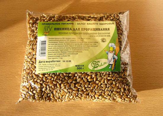 Зерно для проращивания продают в магазинах