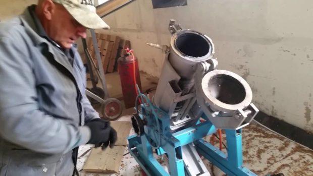 Аппарат для изготовления воздушной пшеницы