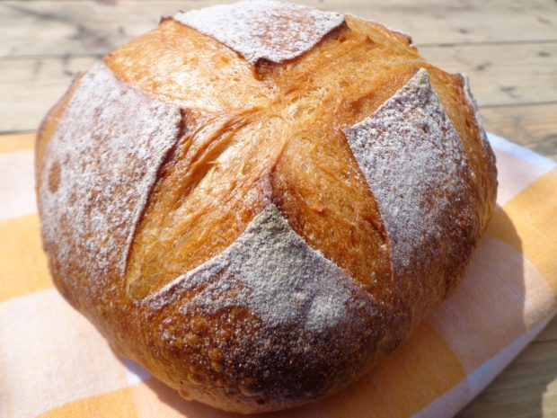 Хлеб из пшеничной и ржаной муки