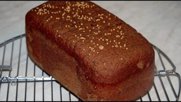 Домашний бородинский хлеб
