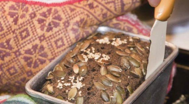 Хлеб с семенами