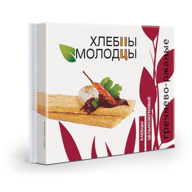 Гречнево-ржаные хлебцы