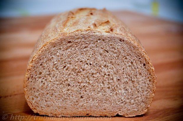 Ржаной хлеб из отрубей